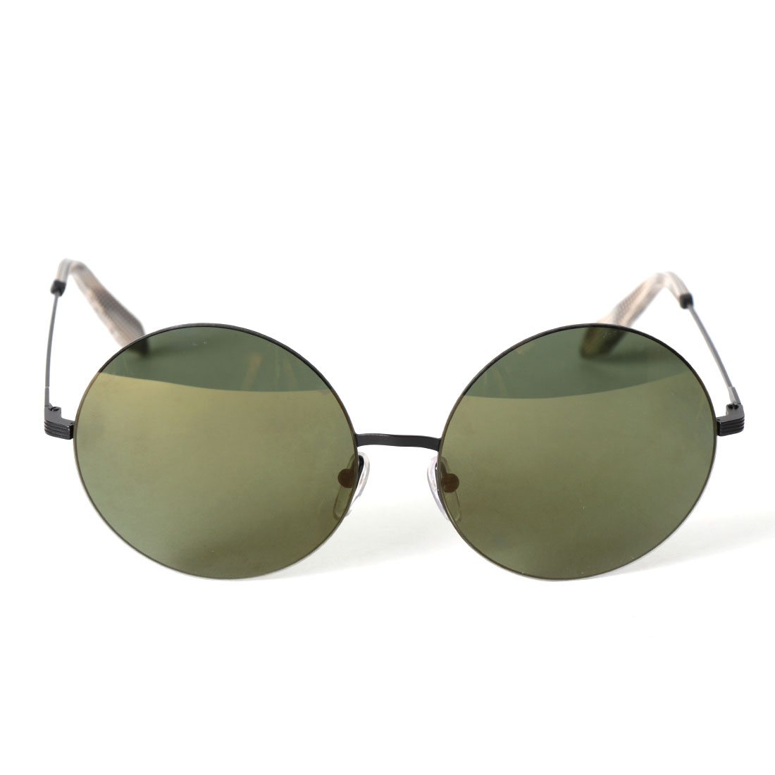 292ff9bca Victoria Beckham Feather Round Stainless Steel And Acetate Sunglasses | The  Lux Portal